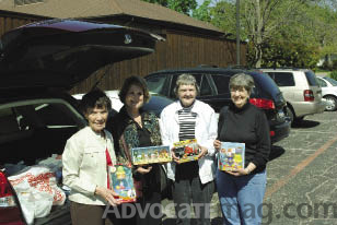 Mary Jo Beverley, C.J. Prince, Darrell Kerr and Margaret Etheredge.