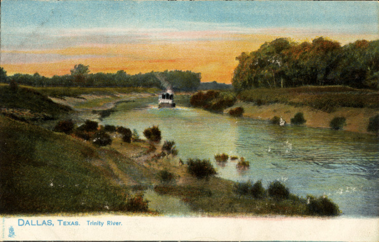 The Trinity River back in more idyllic days.