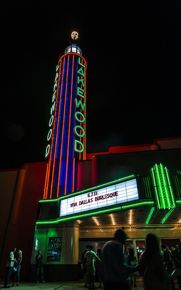 Viva Dallas Burlesque at the Lakewood Theater