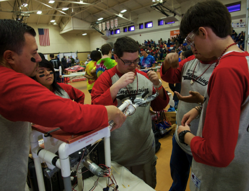 The Woodrow Wilson robotics team needs your help to make 3D-printed face shields for health care workers