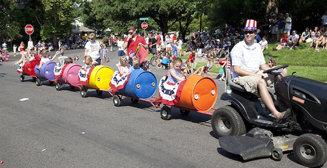 2013 Lakewood Fourth of July Parade: Photo by Katie Bernet