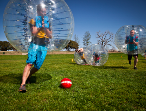 From the archives: Bubble soccer is the social distancing tool we all need right now