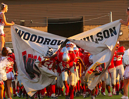 Woodrow football launches fundraising campaign for new lockers, equipment