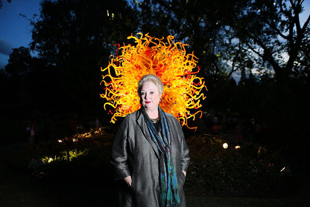 Dallas Arboretum president and CEO Mary Brinegar: Photo by Ben Torres