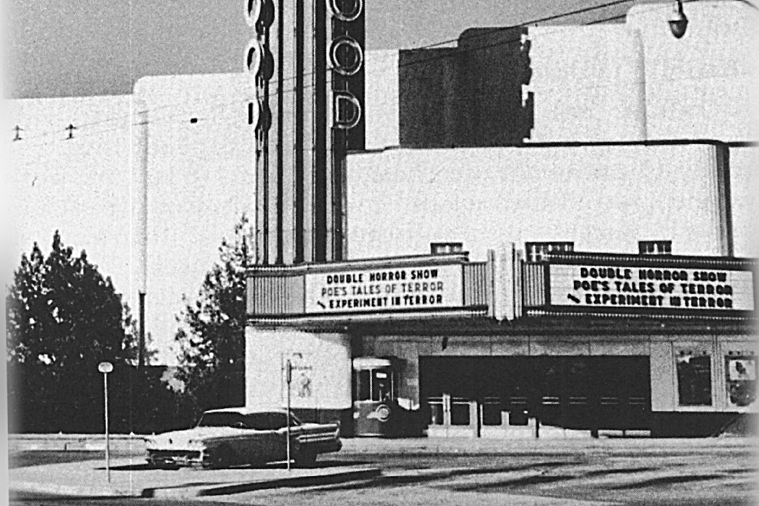 Lakewood Theater opened as a suburban movie house in 1938. The city is trying to designate it as a historic landmark, but it currently sits vacant and may not reopen as a theater.