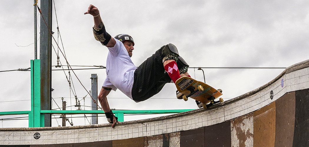 Skater Tracy Weller (Photo by Danny Fulgencio)
