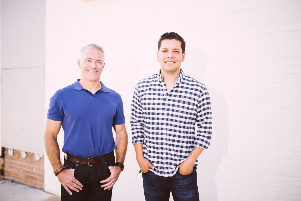 East Dallas neighbors Bob Sinnott and Joel Roldan are the founders of Toasted Coffee + Kitchen.