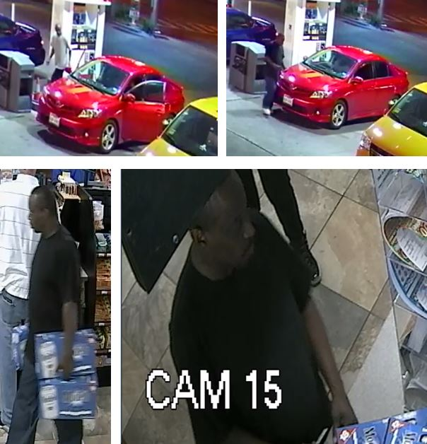 Dallas police released new photos of suspected driveway robber.