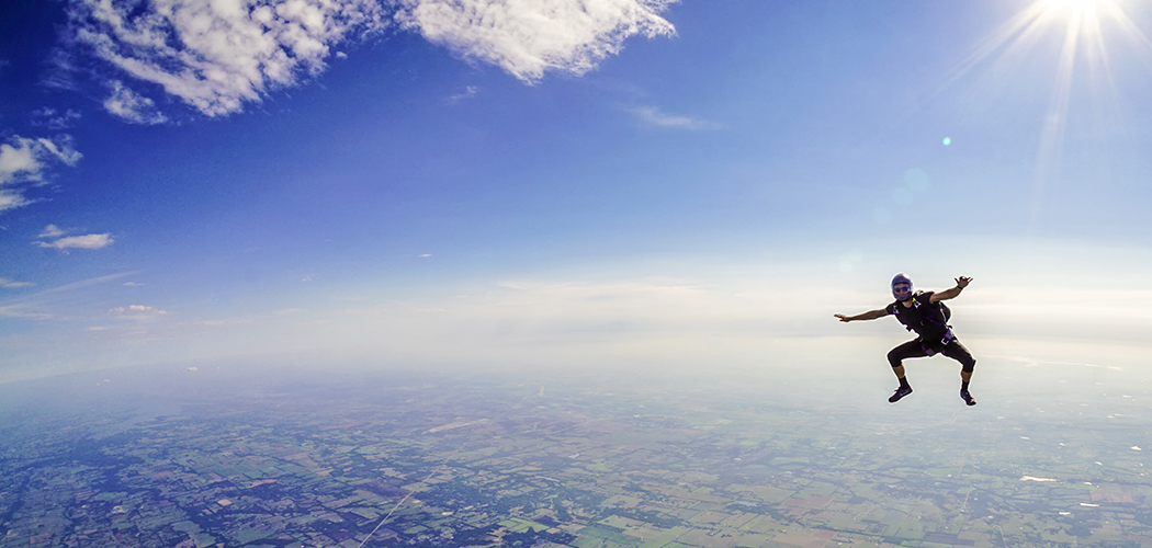 Zach Morman (Photo by Justin Bender of Skydive Spaceland Dallas)