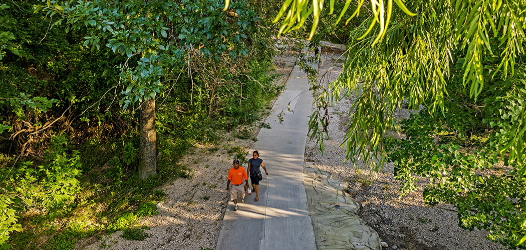 White Rock Creek Trail (Photo by Danny Fulgencio)