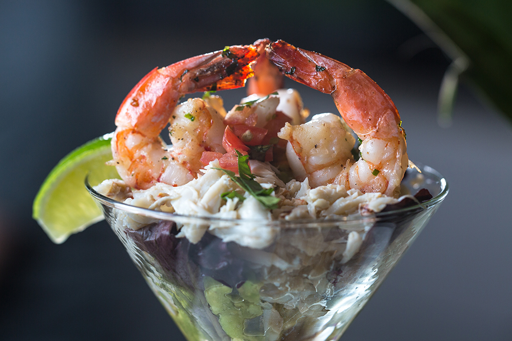 Shrimp and crab martini. (Photo by Kathy Tran)