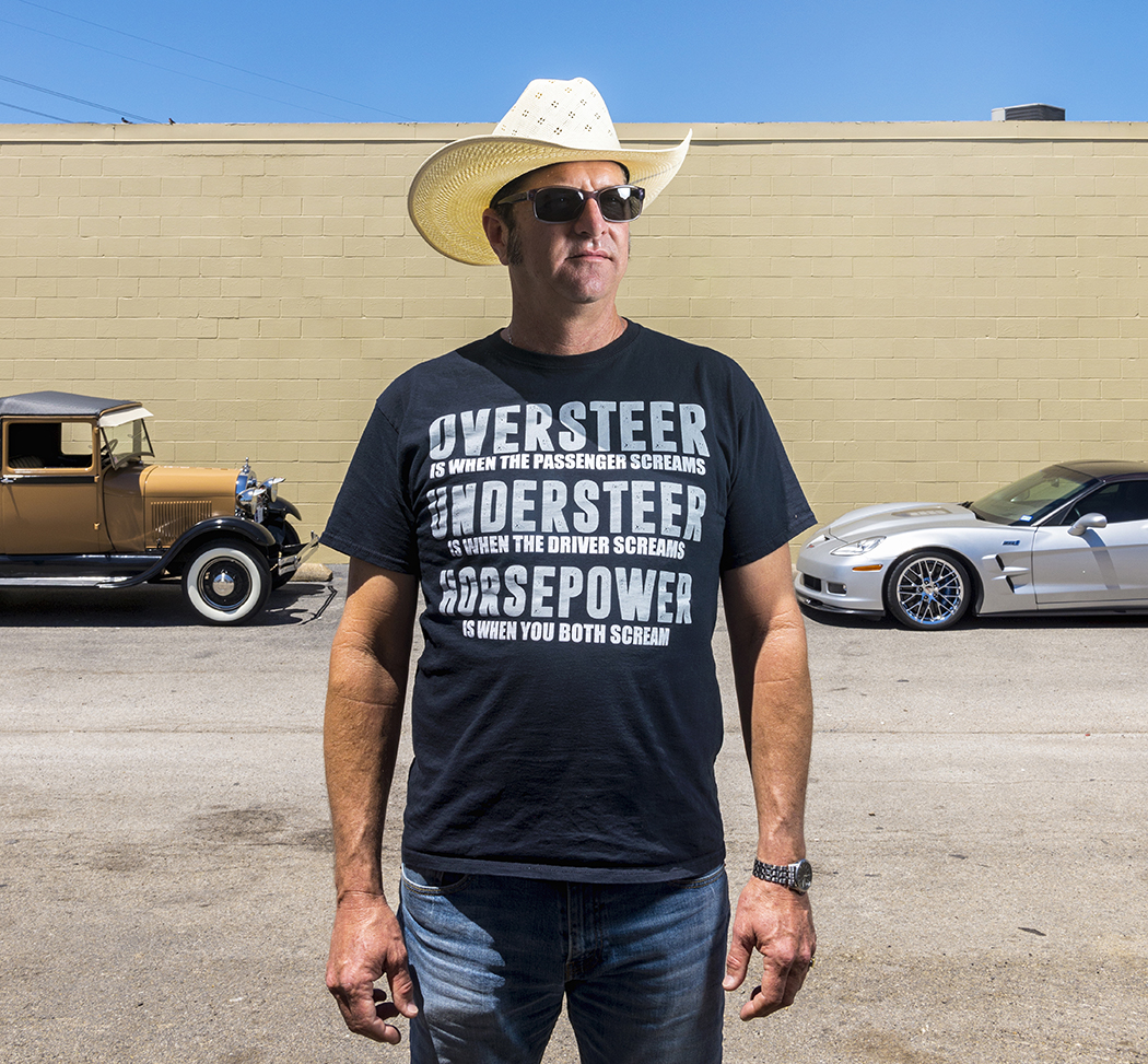 After Woodrow, Alan Short now collects automobiles. (Photo by Danny Fulgencio)