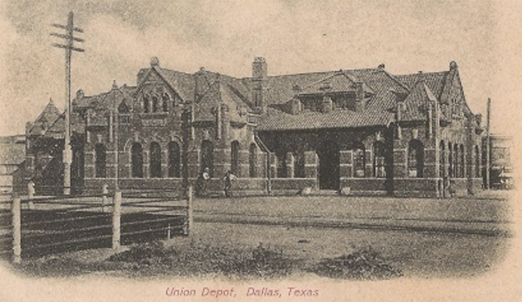 East Dallas Union Depot. (Texas State Historical Association)