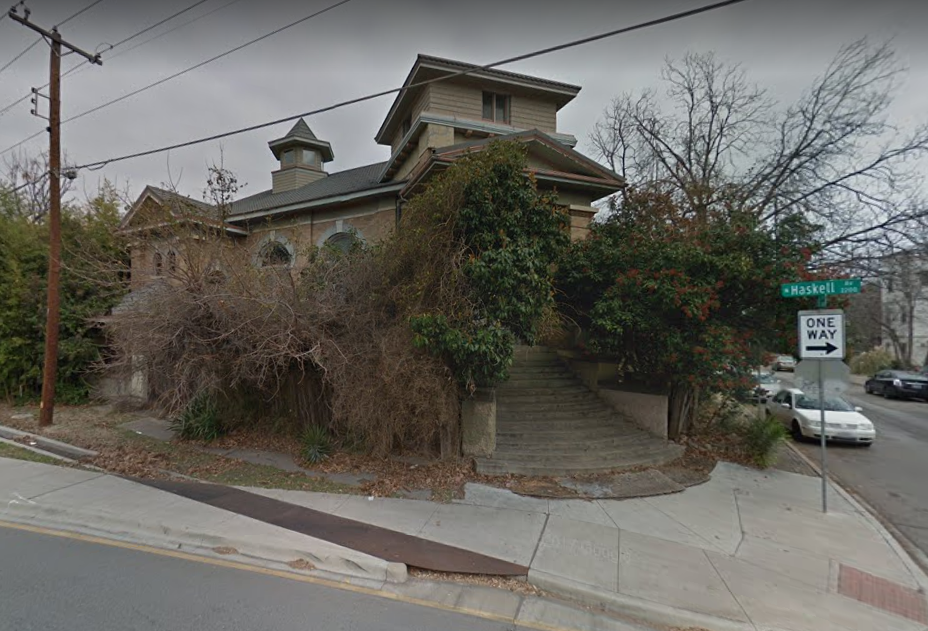 2200 N. Haskell Ave. was once known as Moon Mansion.