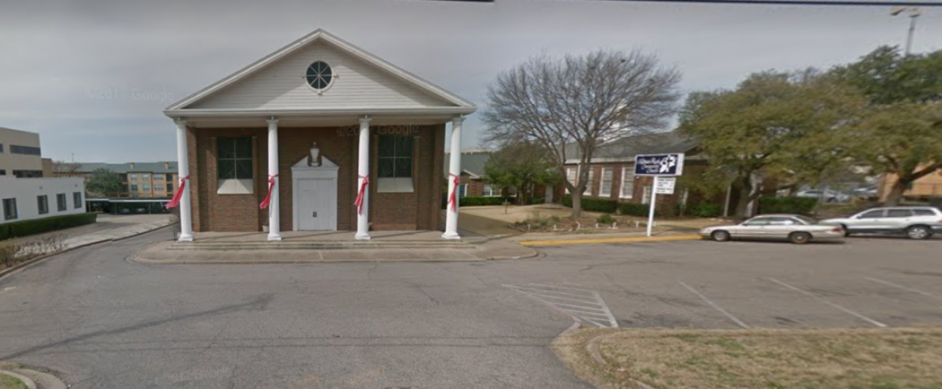 White Rock Community Church could be replaced with a high-density housing complex on Garland Road.