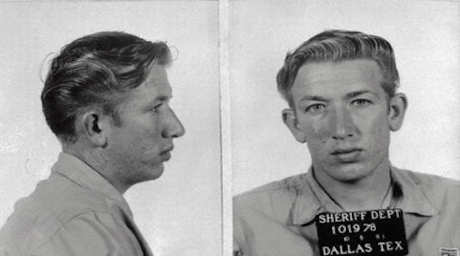 One of Richard Speck's many mugshots during one of his 41 arrests in Dallas.