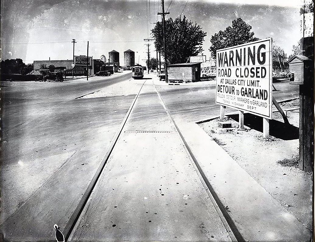 Abrams and Goliad, but was in 1925 Greenville Road and Aqueduct Avenue. (Photo courtesy of Mary Doster)