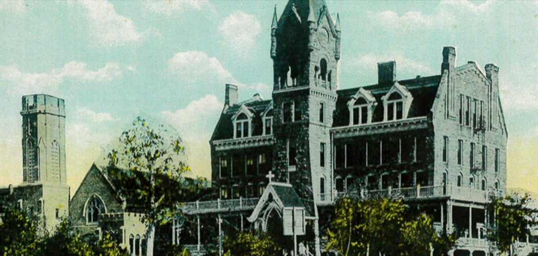 St. Mary's College for women circa 1889.