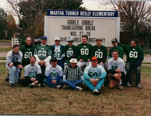 #TBT: Free book recounts Thanksgiving football tradition at Reilly Elementary