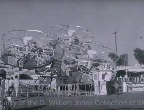 For your holiday entertainment, check out this video of the 1962 circus in Casa Linda