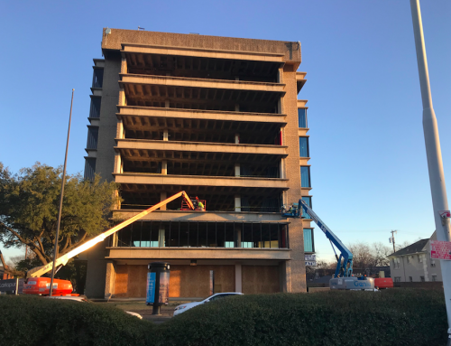 PHOTOS: Construction is underway on the Faulkner Tower