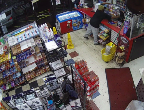 VIDEO: Man shatters door, steals lottery tickets from notorious Texaco in Far East Dallas