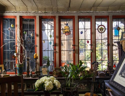 "A 100-year-old ""Shack"" in Junius Heights is actually a stained-glass stunner"