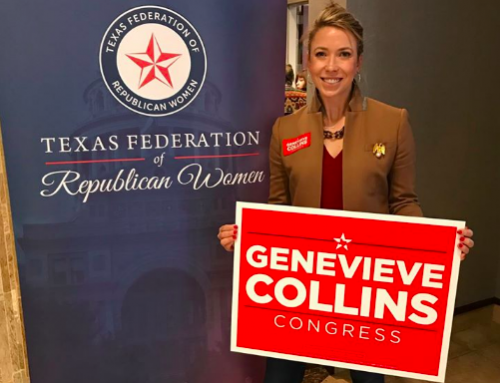 Lakewood neighbor Genevieve Collins wins GOP nomination in race for Colin Allred's seat