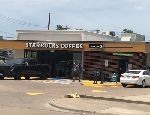 Check out the brew-tiful renovations to the Starbucks on Northwest Highway