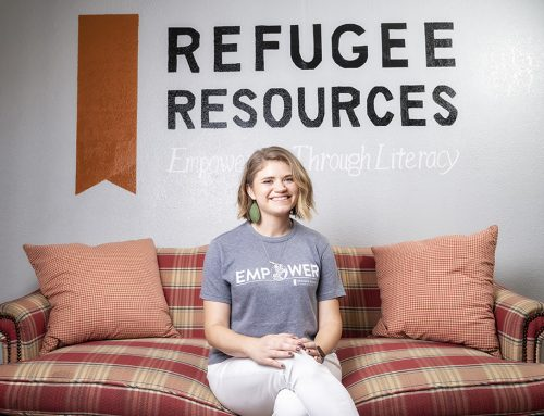 Teaching the teacher: How refugee students inspire a volunteer