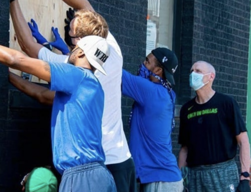 Dirk Nowitzki, Dallas Mavericks board up shops in Deep Ellum
