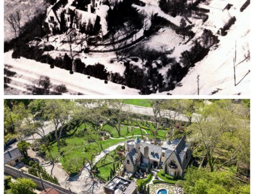 Past and present: Chateau des Grotteaux through the years