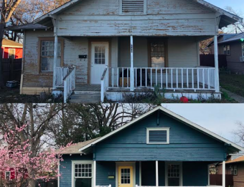 The man with a restoration plan: Before and after home photos you won't believe