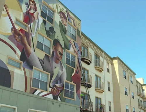 Murals will return to apartment complex on Mockingbird Lane