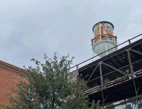 Tower at Deep Ellum's Continental Gin Building is the canvas for new mural