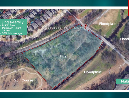 Single-family development proposed for old mobile home site on Highland Road