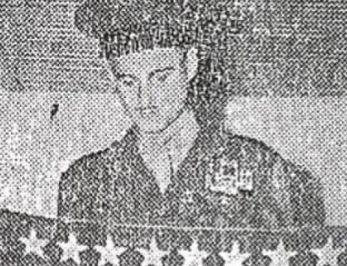 In honor of Flag Day, remember this Woodrow alum from class of 1938