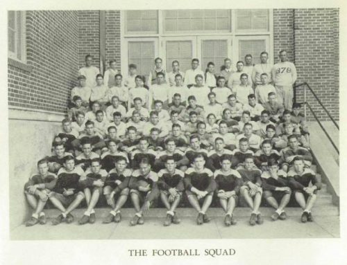 Flashback Friday: When Woodrow's football team played the Mighty Mites at TCU