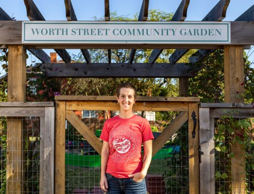Community garden on Peak Street is home to a food forest